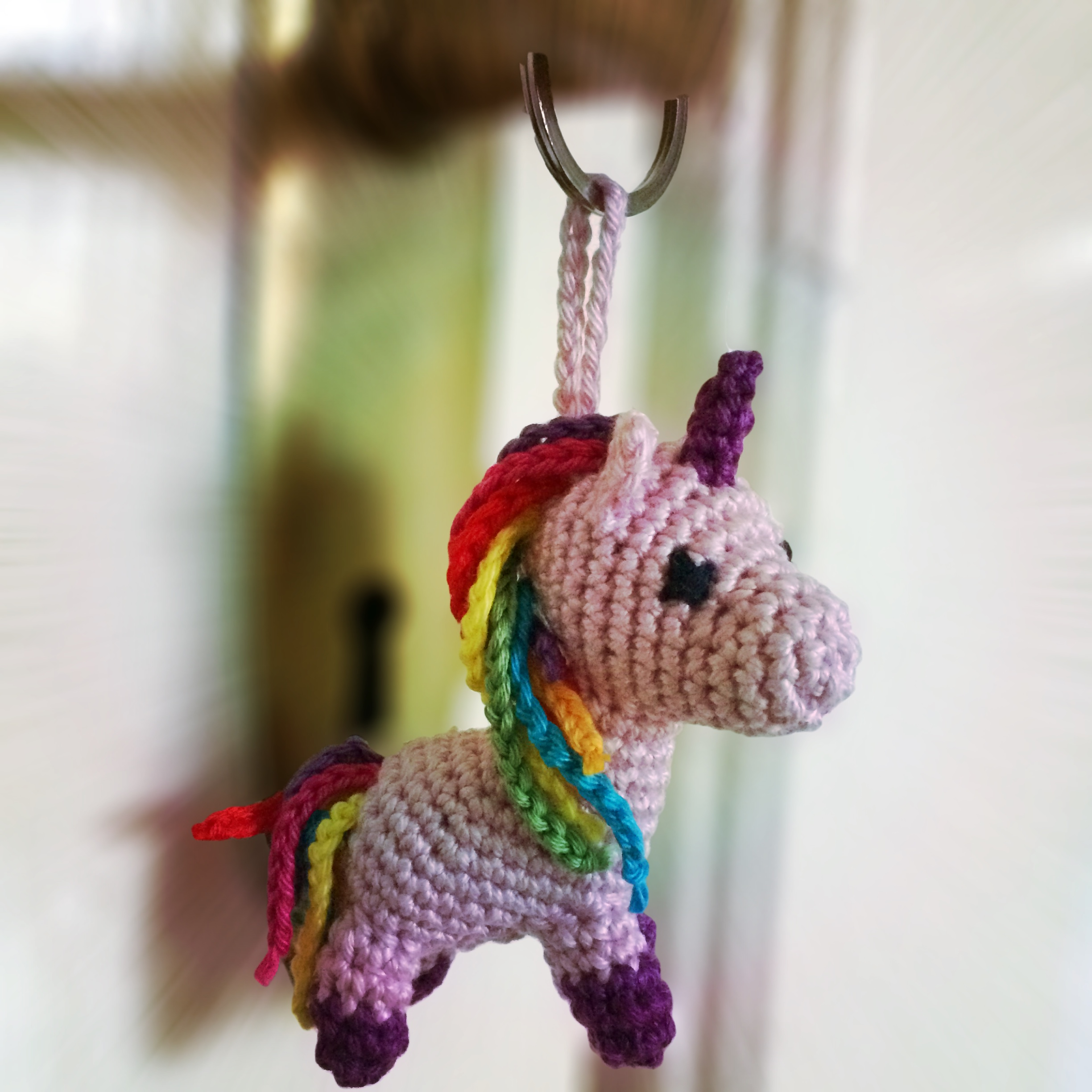 Cube Little Unicorn Amigurumi Pattern | 2448x2448