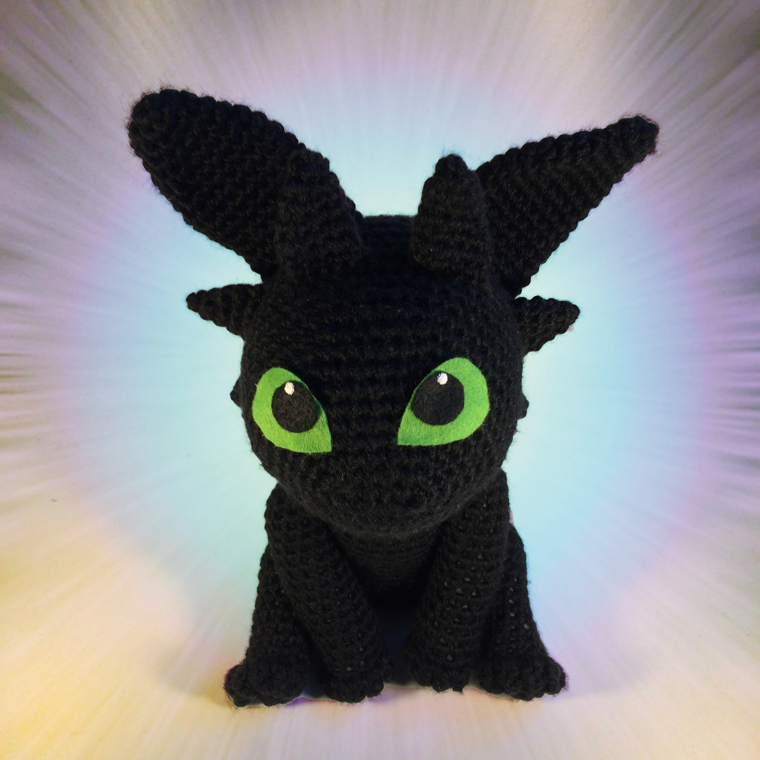 Diy How To Crochet Your Own Night Fury Dragon Complete Tutorial