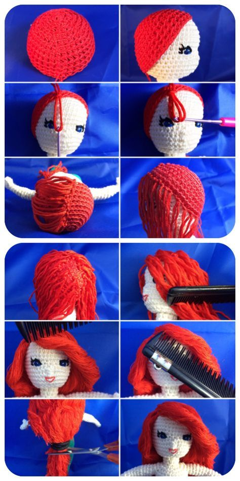 10 Crochet Amigurumi Mermaid Doll Patterns Free and Paid | 948x474