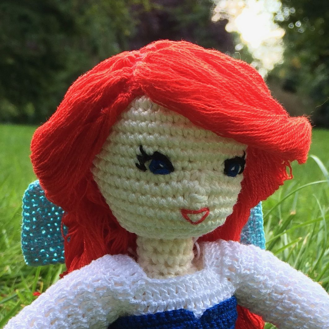 Amigurumi Doll with Braid Hair | 1061x1061
